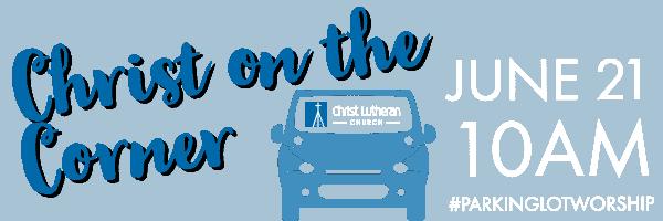 Christ on the Corner - Web header