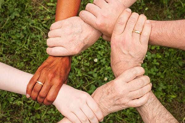 Christ Lutheran-Connect-Group-Multi-Racial-Hands