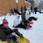 Wyoming Youth Group Sledding_2